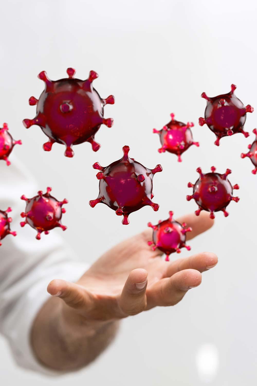 Symbolbild COVID-19 Virus